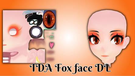 [MMD Part] TDA fox face [DL in description] by KiiroKitsune99