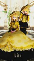 [Vocaloid] Victorian Rin [DL in description] by KiiroKitsune99