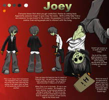 AATR: Joey Ref by DoodlesandDaydreams