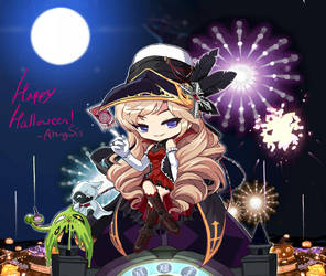 MapleStory Halloween Special Phantom Fanart! by ArangSis