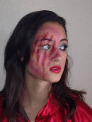 Little Red Riding Hood Makeup by soulpop237