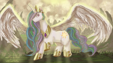Princess Celestia by ekoi1995