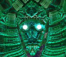 The Green Man by krompulos