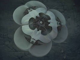 Biomechanical Blossom - Pong 004 by krompulos