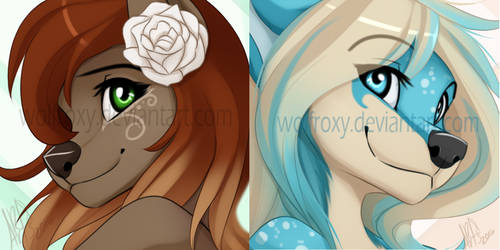 Icons by WolfRoxy