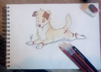 Traditional Feral Danika by WolfRoxy