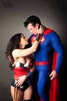 New 52 Superman and Wonder Woman by YourMojoByJojo