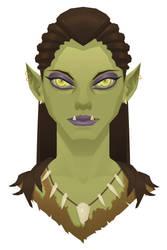 Female Orc 2 by JakeNBing