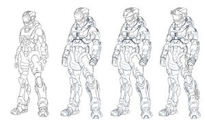 Halo GC: Mk 7 permutations by Spartan-029