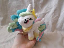 Commission: Mini Princess Celestia by ShadowKrafts