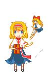 Pixel-Alice by ferretmalfoy