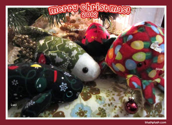 Christmas 2012 Grubs and Bettas by blushplush