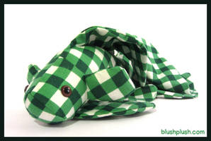 Green Gingham Betta by blushplush