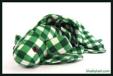 Green Gingham Betta by blushplush
