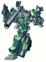 G2 Megatron by Blitz-Wing