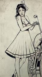 Rockabilly sketch by Blitz-Wing
