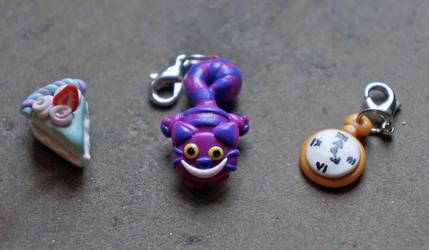Alice in Wonderland Charms by KatKatDreamer95