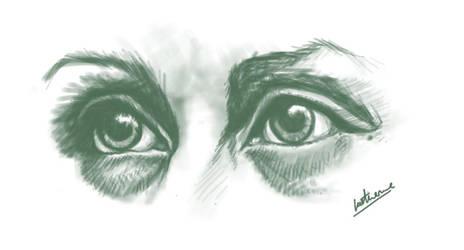 Abigail Hobbs Eye Study by KatKatDreamer95