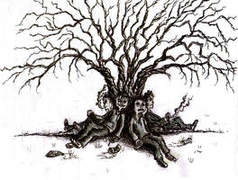 The Tree of Youth by Hebbybobdige
