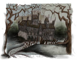 Heefington Manor and Grounds by Hebbybobdige