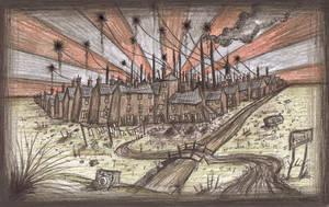 The Slums by Hebbybobdige