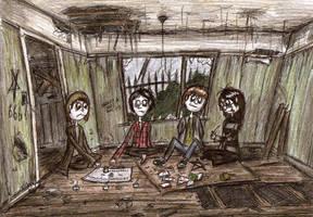 Children of the Chavtown: Ouija Board by Hebbybobdige
