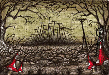 Shroomy's city of Coaldust by Hebbybobdige