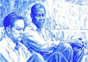 The-Shawshank-Redemption-detail by NestorCanavarro