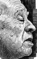 Jorge L. Borges -  Detail by NestorCanavarro