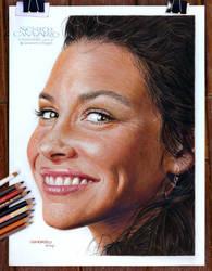 Evangeline Lilly by NestorCanavarro