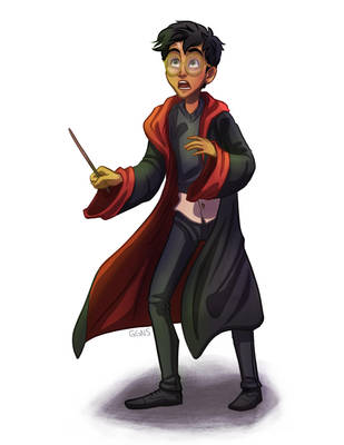 Harry Potter by ggns