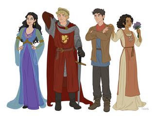 Merlin the Animated Series 2.0 by ggns