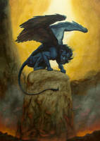The Manticore by Sassar