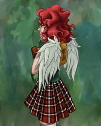 Locked Wings by Saiyuri