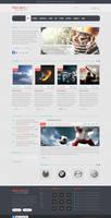 Clean Sport - 18 PSD Sport Template by sheko-elanteko