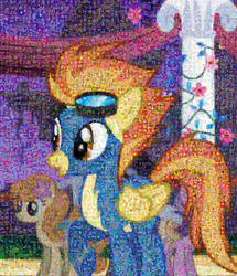 Spitfire mosaic by Lacon-te