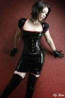 Latex Girl by Phylida