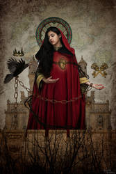 La Dame des Ronces by Phylida