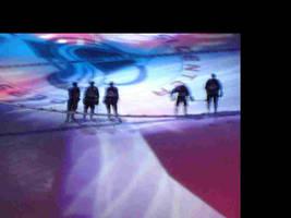 Blurry hockey game by LionheartX042