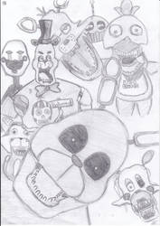 Five Nights at Freddy's by ScratchThem