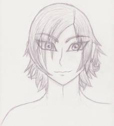 Untitled Bishie - Sketch by Sable-Dreamer