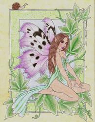 Flower Faeries: Ivy by LuthienNightwolf