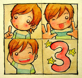 One Two Three by ShandyRp