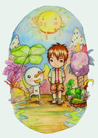 Plue and Bubu by ShandyRp