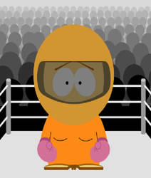 Anna Orange.... Cool Fighter by boxingglovehands