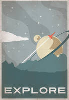 Explore Poster by IndelibleInkWorkshop