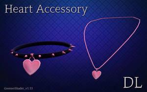 MMD Heart Accessory DL by NiShiGara