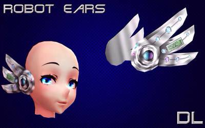 MMD Robot ears DL by NiShiGara