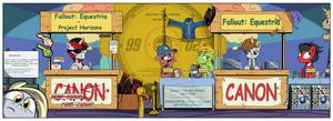 Fallout Equestria vs Project Horizons by IIapIIIuBbIu