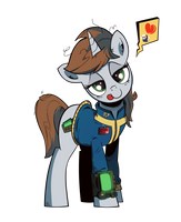Fallout Equestria -  Littlepip (2) by IIapIIIuBbIu